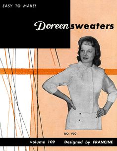 Sweaters | Volume 109 | Doreen Knitting Books
