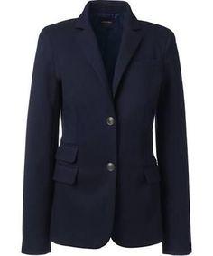 Women's Tall Navy Blazer - Brought to you by Avarsha.com