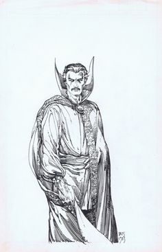 Doctor Strange by Barry Windsor-Smith