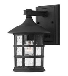 As much as you would want to brighten up the interior portions of your house, it's best to never forget the outer parts. Because once night falls, you'd be happy to install outdoor lighting such as the Hinkley Lighting 1800BK Outdoor Lighting Lamp Freeport 1-Light Black.  Call 888-752-5448 and Get the Lowest Price in the Market.