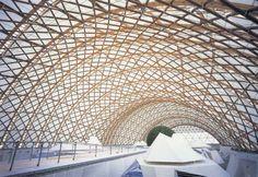 Japan Pavilion for Hanover Expo | Shigeru Ban. Hanover, Germany 2000