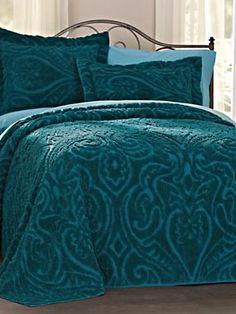 Hawthorne Chenille Bedspread | Blair