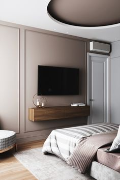 Home Interior Living Room – Master Bedroom Decor Diy Modern Bedroom Design, Home Room Design, Home Interior Design, House Design, Hotel Bedroom Design, Contemporary Bedroom Designs, Modern Luxury Bedroom, Kitchen Contemporary, Interior Colors
