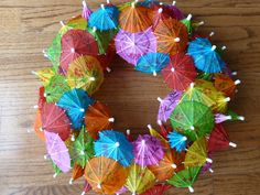 Christmas in Australia wreath? - the heat, the sand, sun, and umbrellas