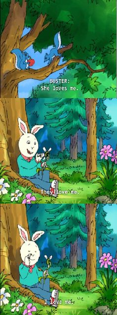 PBS KIDS Arthur, Oh Buster. This is how everyone should be celebrating Valentine's Day.