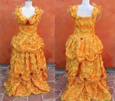 Adult Princess Belle Costume Disney Gown Deluxe Couture Drag Queen XL XXL Plus Size. Great Construction! high quality Disney Princess dress by SweetPickinsShop on Etsy https://www.etsy.com/listing/484752515/adult-princess-belle-costume-disney-gown