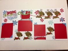 Inking For Others: December Scrap book pages