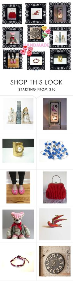 """Handmade Unique Gifts"" by glowblocks ❤ liked on Polyvore featuring interior, interiors, interior design, home, home decor, interior decorating and Massif"