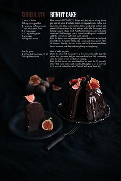 Chocolate bundt cake with chocolate ganache glaze