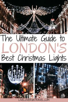 Click here for a guide to all the best Christmas lights for a perfect Christmas in London including a free map! #london | #christmas | London Christmas | Christmas in London | London at Christmas | London at Christmas time | London in winter | winter in London | London streets | best London Christmas lights | best Christmas lights in London | London things to do in | things to do in London | things to do in London in winter | things to do in London at Christmas | London travel guide Christmas Travel, Christmas Fun, Christmas Markets, London Christmas Lights, Travel Outfit Spring, Cool Winter, Outfits Winter, Europe Travel Guide, Travel Guides