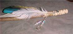 Cherokee talking stick... fun craft for the older girls??