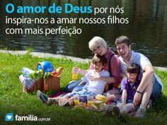 Familia.com.br | Como o amor de Deus por nós pode refletir na forma como amamos nossos filhos #Filhos  #Amor #Deus