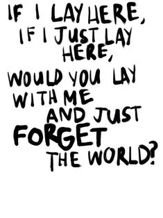 Chasing Cars - Snow Patrol  ~ love, love this song when it came out & still.