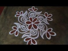Simple Rangoli Border Designs, Indian Rangoli Designs, Rangoli Designs Latest, Rangoli Designs Flower, Rangoli Borders, Free Hand Rangoli Design, Small Rangoli Design, Rangoli Patterns, Rangoli Ideas