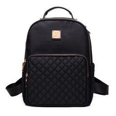 New 2017 Women Backpack Waterproof Nylon Lady school bag Women s Backpacks  Female Casual Travel backpack Bags mochila feminina 47503f5e52f20