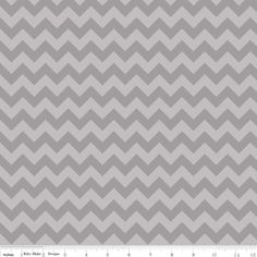 Riley Blake Designs - Small Chevron - Small Chevron Tone on Tone in Gray
