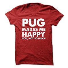 Pug makes me happyPug makes me happypug, pug, PUG, Pug, pug, Pug, PUg, PUG, Pug