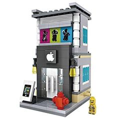 LOZ Mini Block Street Mini Series Gadget Retail Store - 1603 -- Read more reviews of the product by visiting the link on the image. (This is an affiliate link) #BuildingToys
