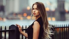 Gorgeous young model woman with perfect blonde hair looking at camera posing in the city wearing black evening dress. Perfect Blonde Hair, Blonde Hair Looks, Winter Hair Colour For Blondes, Hair Loss Reasons, Best Hair Loss Treatment, Hair System, Hair Falling Out, Healthy Hair Tips, Hair Magazine