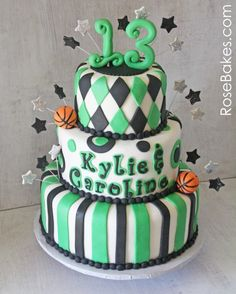 Cake Ideas For 13th Birthday Boy : 1000+ images about Party Ideas- ALESIA on Pinterest ...