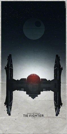 Star Wars Spaceship - Tie Fighter