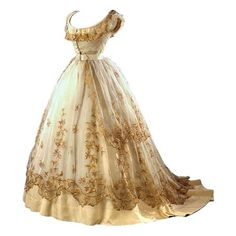 Tumblr ❤ liked on Polyvore featuring dresses, gowns, 1864, historical and robe