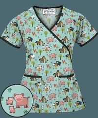 Pediatric Nursing Scrubs & Pediatric Nurse Scrubs at Uniform Advantage Vet Scrubs, Medical Scrubs, Scrubs Outfit, Scrubs Uniform, Veterinary Scrubs, Stylish Scrubs, Pediatric Nursing, Scrub Tops, Work Wardrobe
