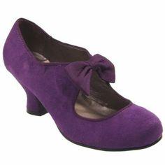 Purple Wedding Shoes Violet bling kitten heels Bridal by AlinaShop ...