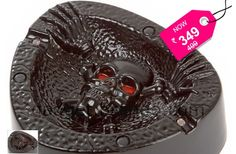 Hello Passive Smokers! Coughing And Screaming Skull Ash Tray Perfect Gift for Smokers... Convey your message to your loved once by gifting this innovative ashtray and let them know how much they mean to you.