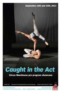 Caught in the Act 17 poster. By Brad Miskell. Featuring Kevin and Nobu.
