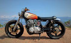 Pure Motorcycles Honda CB650 Brat Style #motorcycles #bratstyle #motos | caferacerpasion.com