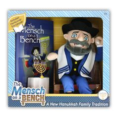 "Mensch on a Bench ... the Jewish child's ""Elf on a Shelf"""
