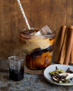 Vietnamese Iced coffee with Organic Valley Half & Half