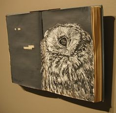 Etchings Silkscreen Drawings Altered Books Hand-Bound Books
