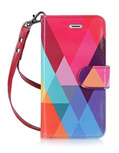 Amazon.com: iPhone 7 Plus Case, FYY [RFID Blocking wallet] 100% Handmade iPhone 7 Plus Wallet Case Stand Cover With Credit Card Protector Rose Gold: Cell Phones & Accessories
