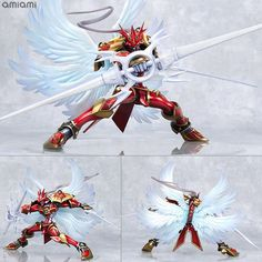GEM Series Digimon Tamers Duke Mon Crimson Mode Completed Figure Mega House  #MegaHouse