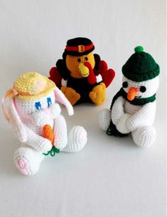 Holiday Coin Banks Crochet Pattern