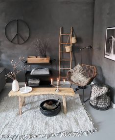 Stylish and cozy interior located in Netherlands. Home Room Design, Home Interior Design, Living Room Designs, House Design, Home Living Room, Living Room Grey, Living Room Decor, Bedroom Decor, Minimalist Home