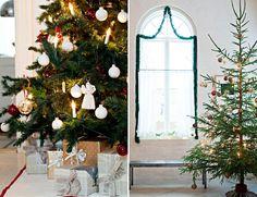 Elegantti, minimalistinen vai valkoinen joulukuusi?