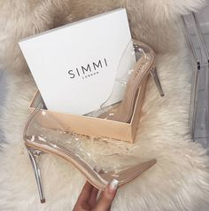 Competing head-to-head with EGO Shoes, Simmi Shoes aims to stay one high heel ahead of the rest. Founded in the London-based shoe brand offers Pretty Shoes, Beautiful Shoes, Prom Shoes, Wedding Shoes, Dance Shoes, High Heels Stilettos, Shoes Heels, Nude Shoes, Stiletto Heels