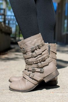 Bootie with Buckles | uoionline.com: Women's Clothing Boutique