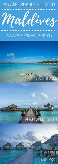 The ultimate guide to Maldives. Learn how you can have an affordable vacation in the Maldives, and read about the accommodation options for different budget - you don't have to be filthy rich to travel to Maldives | Maldives on a budget | Solo female travel in Maldives | Be My Travel Muse