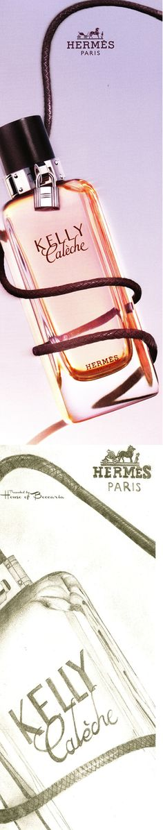 ~Jean-Claude Ellena Hermès emblems: Kelly, the leather handbag, and calèche, signature of the House, combine to create Kelly Calèche for women in 2007 | House of Beccaria#