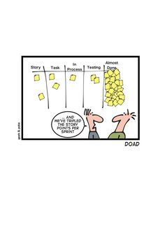 How to triple the story points per Sprint Agile Software Development, Software Testing, Manager Humor, Programming Humor, Tech Humor, Career Exploration, Business Analyst, Work Humor, Design Thinking