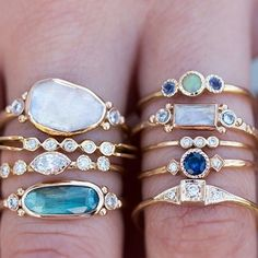 Mouth-watering rings #loveaudryrose