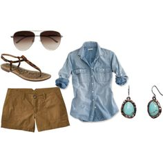 take it easy, created by merara on Polyvore