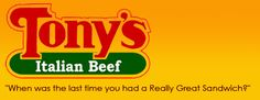 Chicago, Illinois - Tony's italian Beef