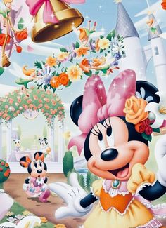 Wall Paper Pink Disney Minnie Mouse 64 Ideas For 2019 Mickey Mouse Images, Minnie Mouse Pictures, Mickey Mouse And Friends, Mickey Minnie Mouse, Mickey Mouse Wallpaper, Cute Disney Wallpaper, Disney Cartoon Characters, Disney Cartoons, Disney Images