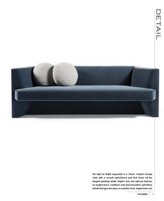 interiors is the only magazine specifically targeted to the residential interior design trade, offering a highly curated selection of the best interior Sofa Bench, Interiors Magazine, Residential Interior Design, Furniture Upholstery, Best Interior, Sofa Design, Banner Design, Furnitures, Sofas