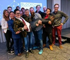 Blockchain conference in London with BEN students from all over the world!